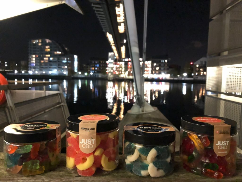 JustCBD CBD Gummies Jar