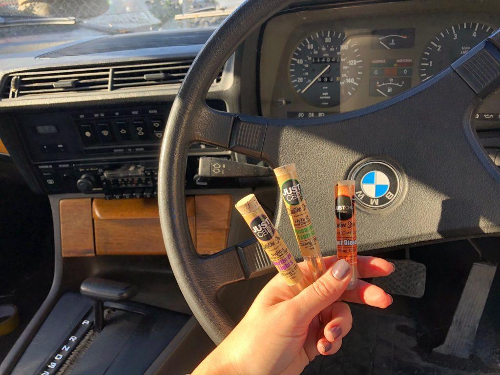 JustCBD Vape Cartridges