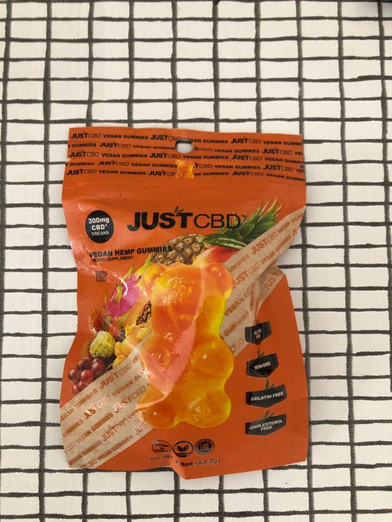 JustCBD CBD Vegan Gummies